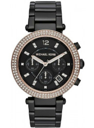 Michael Kors Women's Parker Chronograph Black Dial Watch MK5885
