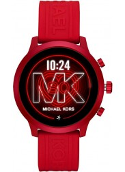 Michael Kors Women's Access MKGO Red Silicone Smartwatch MKT5073