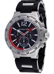 Michael Kors Men's Melbourne Chronograph Black Dial Watch MK8298