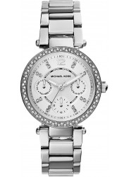 Michael Kors Parker Silver Dial Silver Tone Watch MK5615