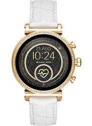 Michael Kors Women's Access Sofie Heart Rate White Silicone Smartwatch MKT5067