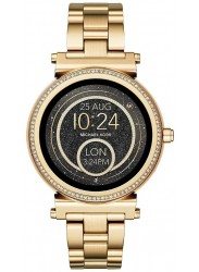 Michael Kors Women's Sofie Gold Stainless Steel Smartwatch MKT5021