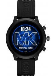 Michael Kors Women's Access MKGO Black Silicone Smartwatch MKT5072