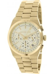 Michael Kors Women's Channing Chronograph Gold Tone Watch MK5926