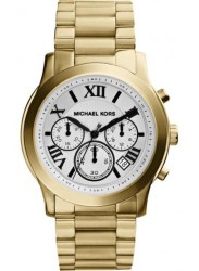 Michael Kors Women's Cooper Chronograph White Dial Watch MK5916