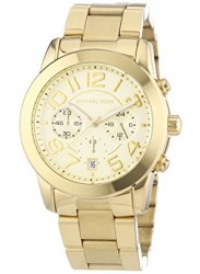Michael Kors Women's Mercer Chronograph Champagne Dial Watch MK5726