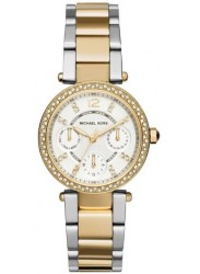 Michael Kors Women's Mini Parker Two Tone Watch MK6055