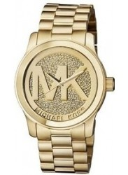 Michael Kors Women's MK5706 Goldtone Stainless Steel Quartz Watch with Goldtone Dial