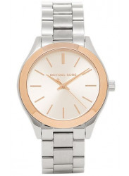Michael Kors Women's Slim Runway Two Tone Watch MK3514