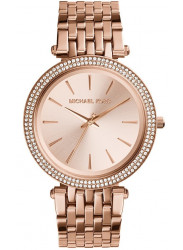Michael Kors Women's Darci Rose Gold Tone Crystals Watch MK3192