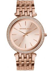Michael Kors Women's Darci Rose Gold Tone Crystals Watch MK3192