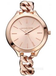 Michael Kors Women's Slim Runway Rose Dial Twist Watch MK3223