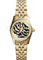 Michael Kors Women's Petite Lexington Gold Tone Watch MK3300