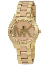 Michael Kors Women's Mini Runway Rose Gold Tone Watch MK3650