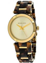 Michael Kors Delray Gold Dial Tortoise and Gold Bracelet Women's Watch MK4314
