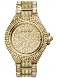 Michael Kors Women's Camille Gold Crystal Pave Watch MK5720