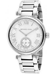 Michael Kors Women's Skylar Silver Tone Silver Dial Wath MK5866