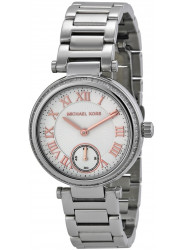 Michael Kors Skylar Silver Dial Silver Tone Stainless Steel Watch MK5970