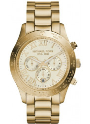 Michael Kors Men's Layton Chronograph Gold Tone Watch MK8214