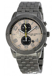 Michael Kors MK8349 Men's Mercer Gunmetal Stainless-Steel Quartz Watch