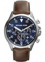 Michael Kors Men's Gage Chronograph Blue Dial Watch MK8362