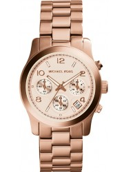 Michael Kors Women's Runway Rose Gold Tone Watch MK5128