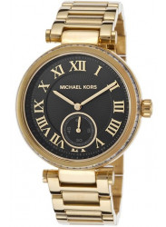 Michael Kors Women's Skylar Chronograph Black Dial Watch MK5989