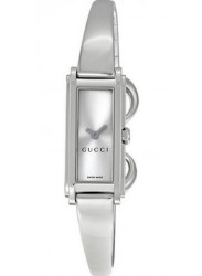 Gucci Women's G-Line Silver Dial Stainless Steel Watch YA109523