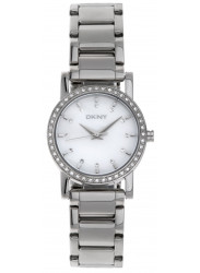 DKNY Women's Mother Of Pearl Dial Silver Tone Watch NY4791