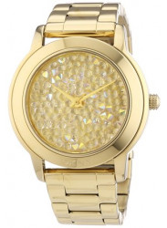 DKNY Women's Gold Tone Dial Watch NY8437