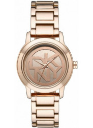 DKNY Women's Tompkins Rose-Gold Dial Rose Gold-Plated Watch NY8877