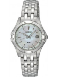 Seiko Women's Le Grand Sport Mother of Pearl Dial Stainless Steel Watch SXDE09