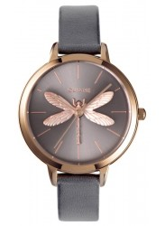 OUI&ME Women's Amourette Grey Dial Grey Leather Watch ME010074