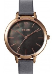 OUI&ME Women's Amourette Dark Grey Dial Grey Leather Watch ME010099