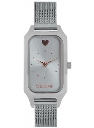 OUI&ME Women's Finette Silver Dial Stainless Steel Watch ME010115