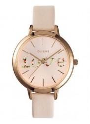 OUI&ME Women's Fleurette Rose Gold Dial Beige Leather Watch ME010018