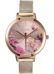 OUI&ME Women's Fleurette Rose Gold Dial Rose Gold Stainless Steel Watch ME010103