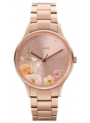 OUI&ME Women's Petite Bichette Rose Gold Floral Dial Rose Gold Stainless Steel Watch ME010217