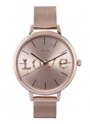 OUI&ME Women's Grande Fleurette Rose Gold Dial Rose Gold Stainless Steel Watch ME010112
