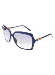 Gucci Unisex Oversized Full Rim Blue Sunglasses GG 3131/S IP1/U3