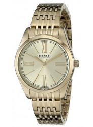 Pulsar Women's Gold Dial Gold Tone Watch PG2010