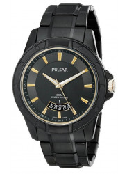 Pulsar Men's Grey Dial Stainless Steel Watch PS9273