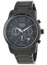 Pulsar Men's Black Dial Chronograph Watch PT3287