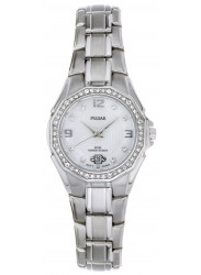 Pulsar Women's Mother Of Pearl Dial Stainless Steel Watch PXT797