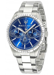 Maserati Men's Competizione Blue Dial Stainless Steel Watch R8853100009