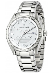 Maserati Men's Sorpasso Silver Dial Stainless Steel Watch R8853124002