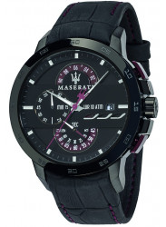 Maserati Men's Ingegno Tachymeter Chronograph Black Dial Watch R8871619003