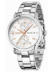 Maserati Men's Epoca White Dial Watch R8873618002