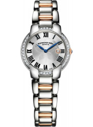 Raymond Weil Women's Jasmine Silver Dial Two Tone Watch 5229-S5S-01659