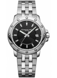 Raymond Weil Men's Tango Black Dial Watch 5599-ST-20001